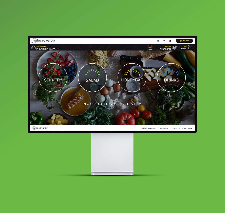 honeygrow case study - dnamic - mobile app development