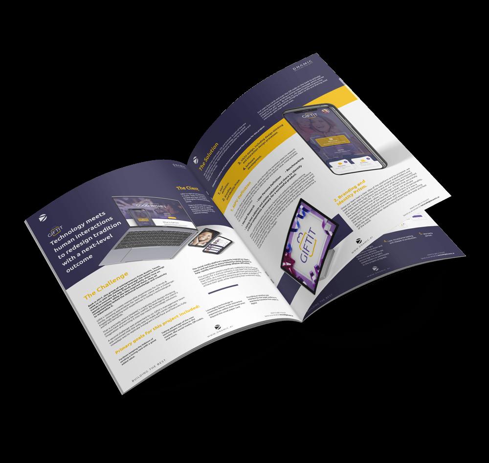 DNAMIC - Giftit Software Development Case Study - Giftit booklet